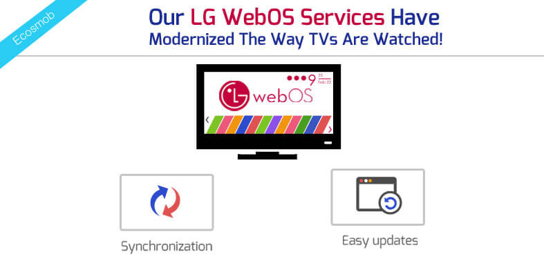 Our LG WebOS Services Have Modernized The Way TVs Are Watched!
