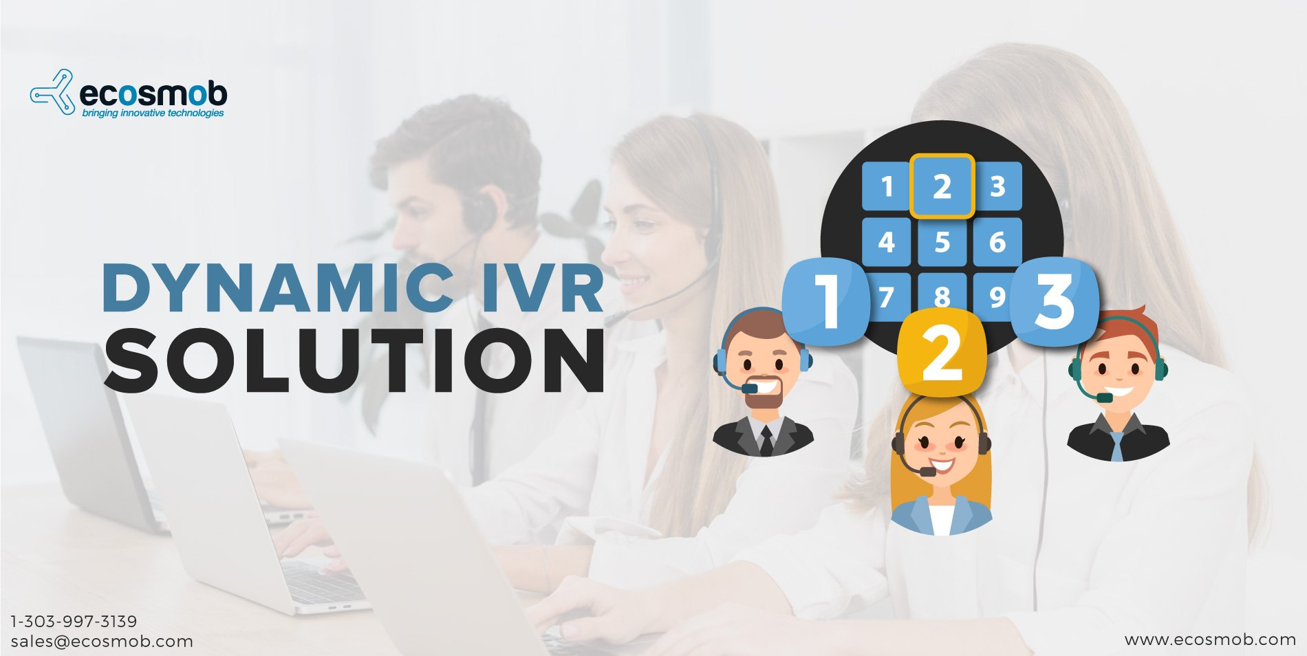 Why IVR solutions for Insurance industries? - Ecosmob