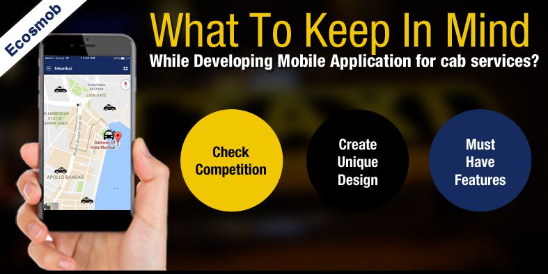 Mobile App Development for Taxi Booking